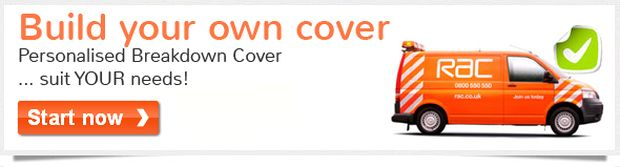 RAC Breakdown Cover Deals